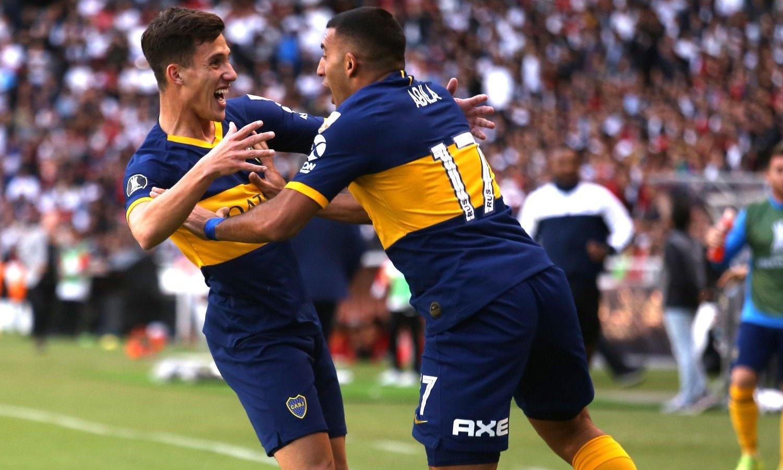 Boca goleó a la Liga de Quito y tiene un pie en semifinales