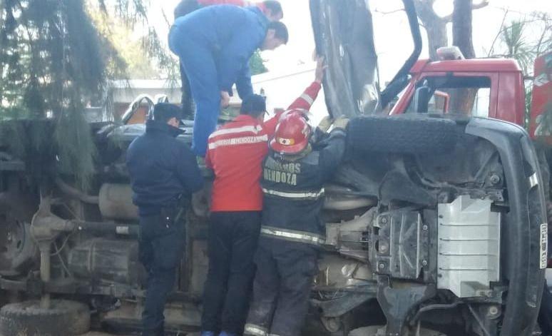 Funcionario de turismo tuvo un violento accidente en San Rafael
