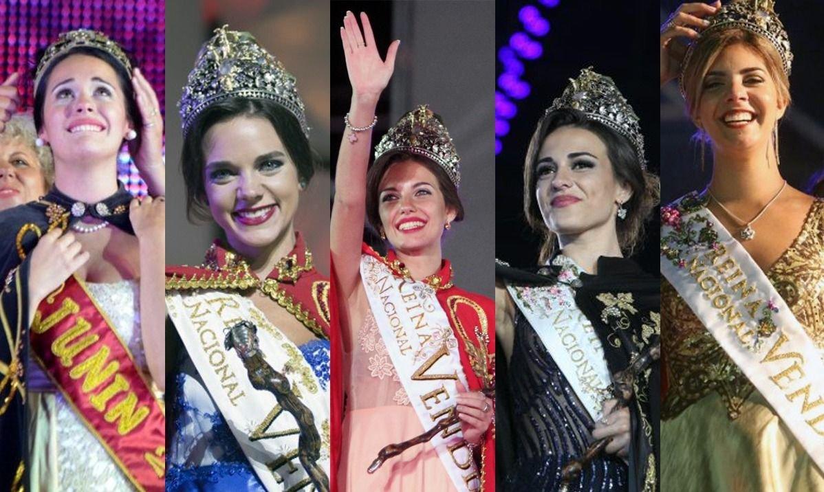 Cultura brindará un homenaje a las últimas cinco reinas vendimiales