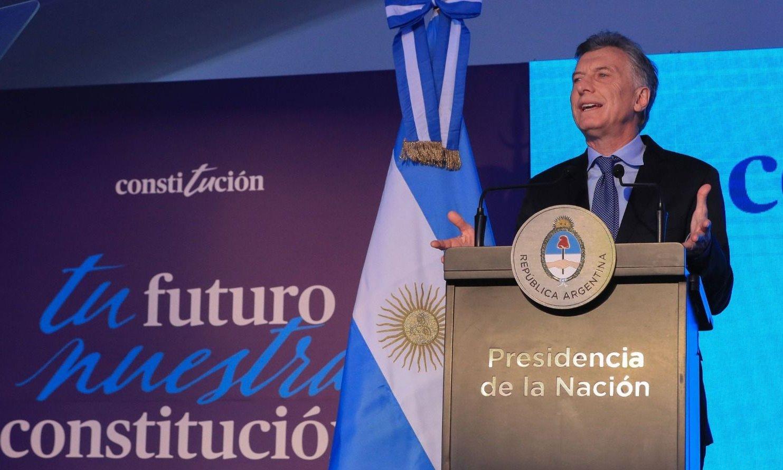 """Mauricio Macri: """"No hay mejor manera de defender la constitución que acatarla, no atacarla"""""""
