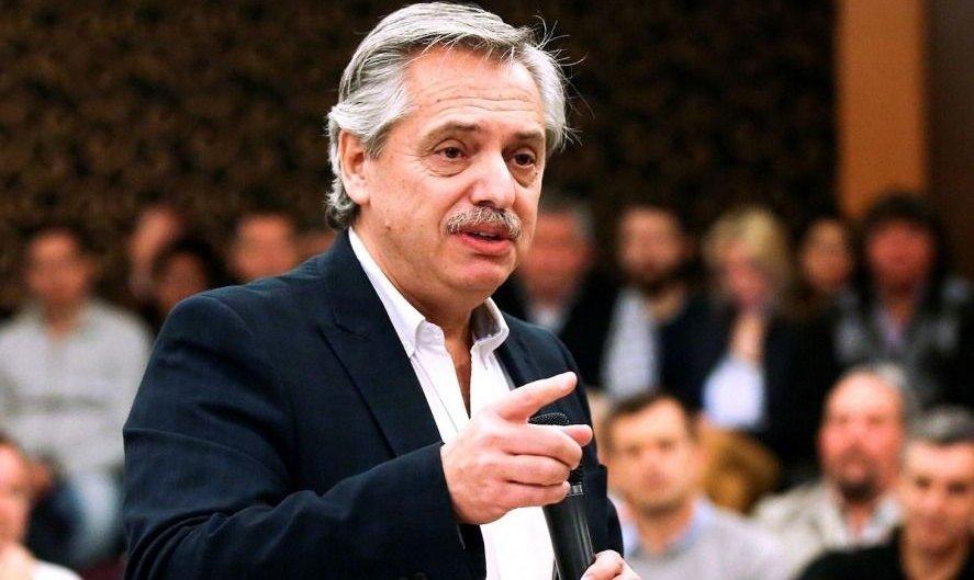 """Alberto Fernández: """"Me preocupa que el 28 de octubre Macri vuelva a hacer un disparate"""""""