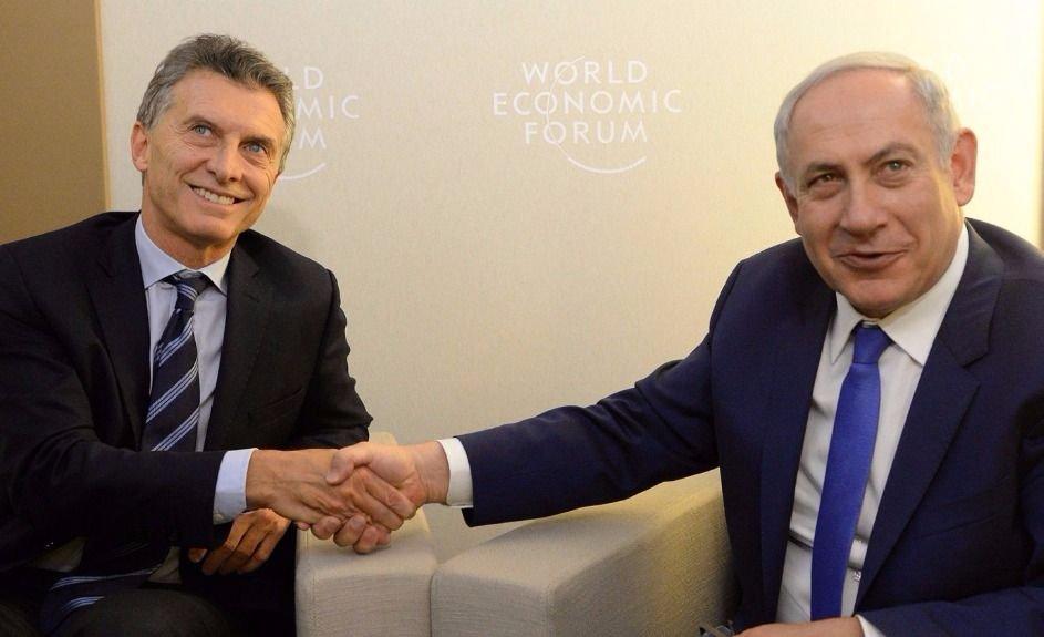Gran operativo por la llegada de Netanyahu a la Argentina