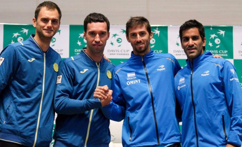 Argentina cayó ante Kazajistán en dobles