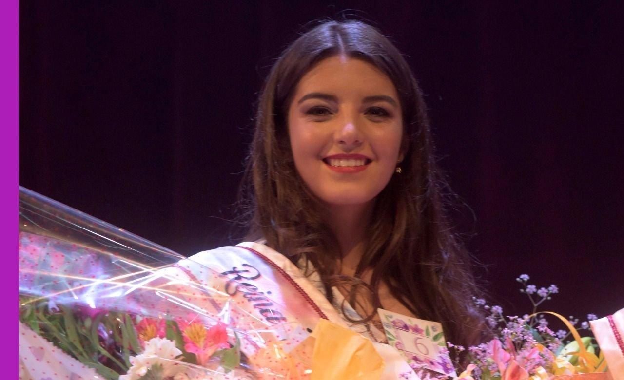 Martina Leiva fue coronada Reina de los Estudiantes