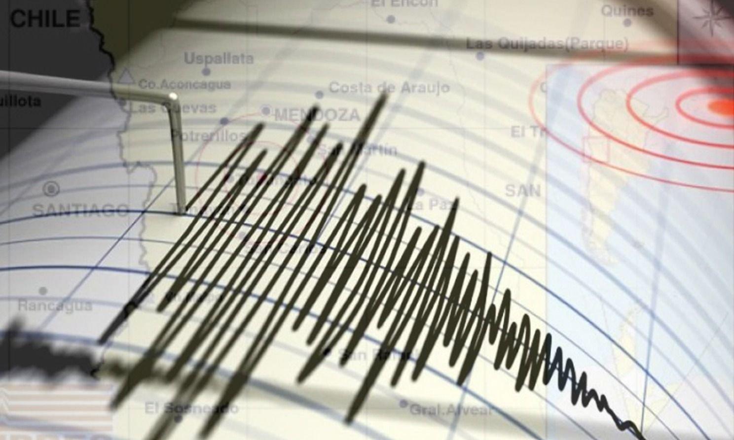 Un fuerte temblor sacudió la noche mendocina