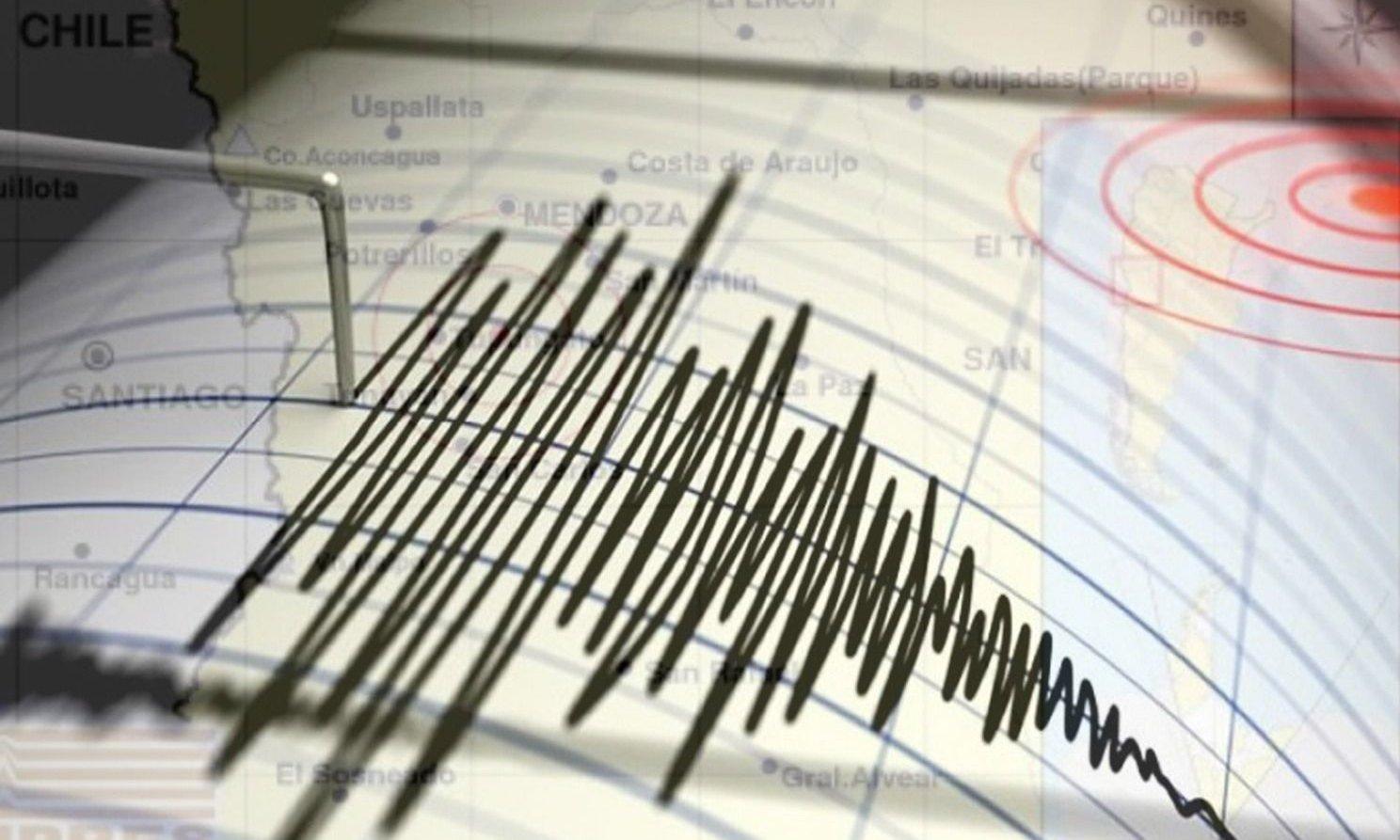 Dos temblores sacudieron a Mendoza en la madrugada