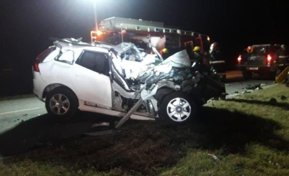 La pareja de De la Sota presenció el fatal accidente — Trágico
