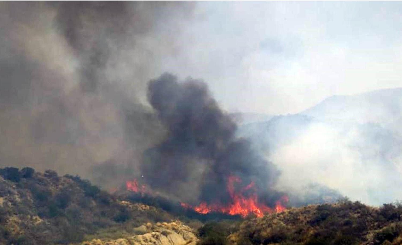 ALERTA | Por el incendio en Cerro Arco evacuaron barrios aledaños