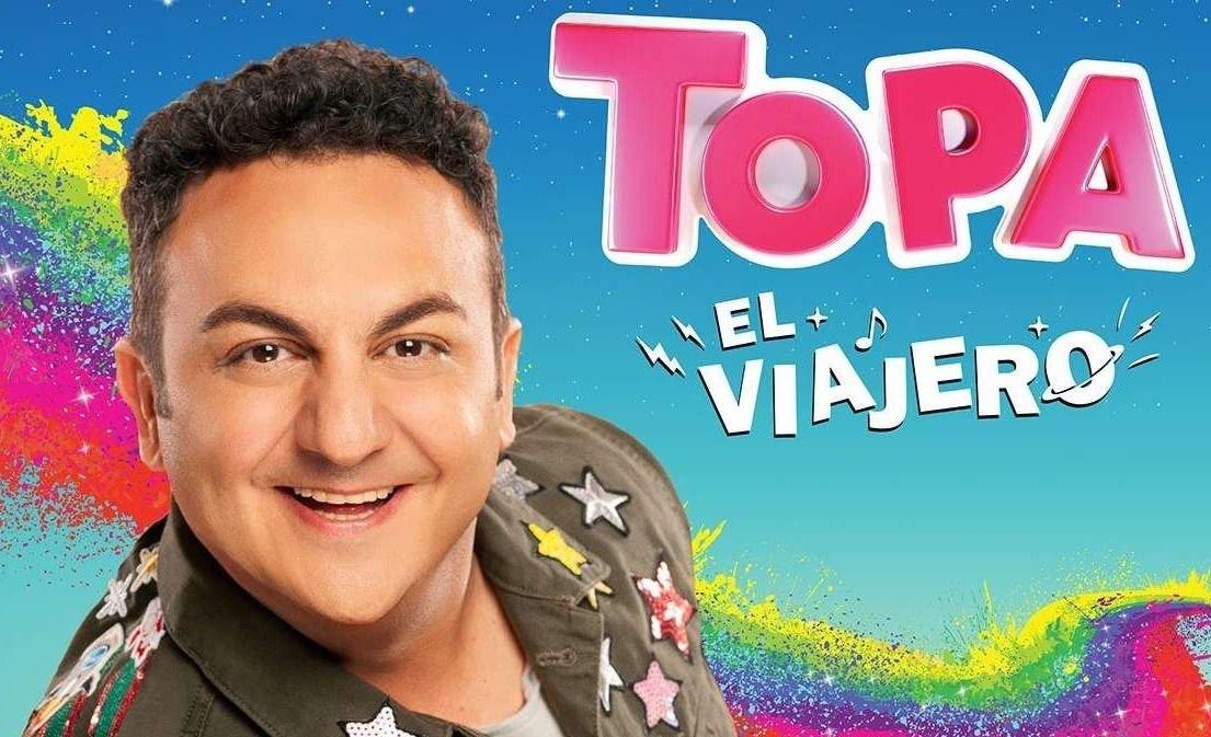 """Topa presentó su show en """"Somos muy Siesteros"""""""