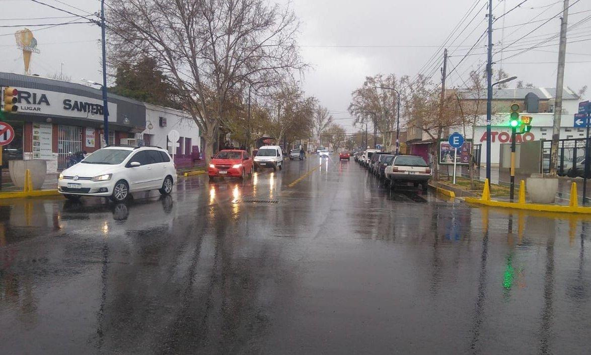 El SMN emitió una alerta por fuertes lluvias para Mendoza
