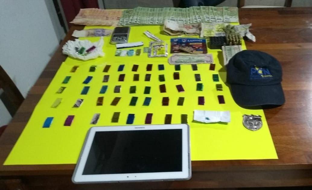 allanamientos-las-heras-policiales-cocaína-
