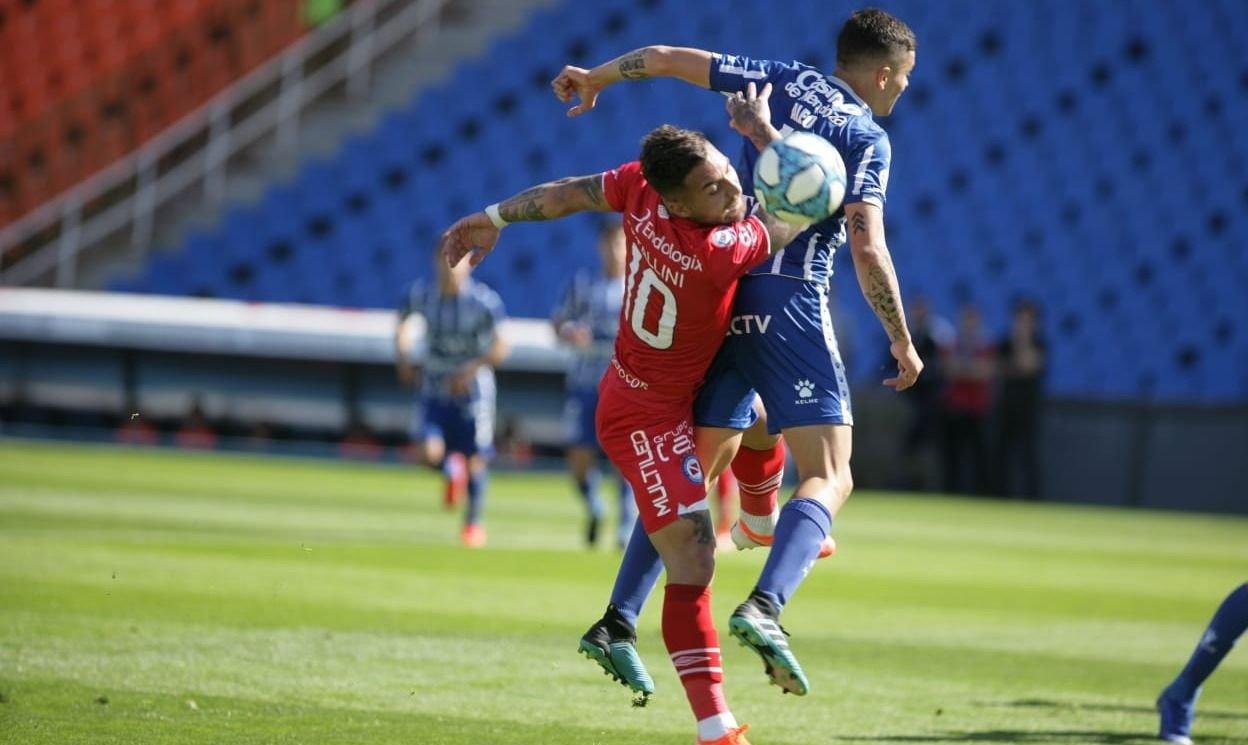 Godoy Cruz no pudo con Argentinos Juniors y sumó otra derrota