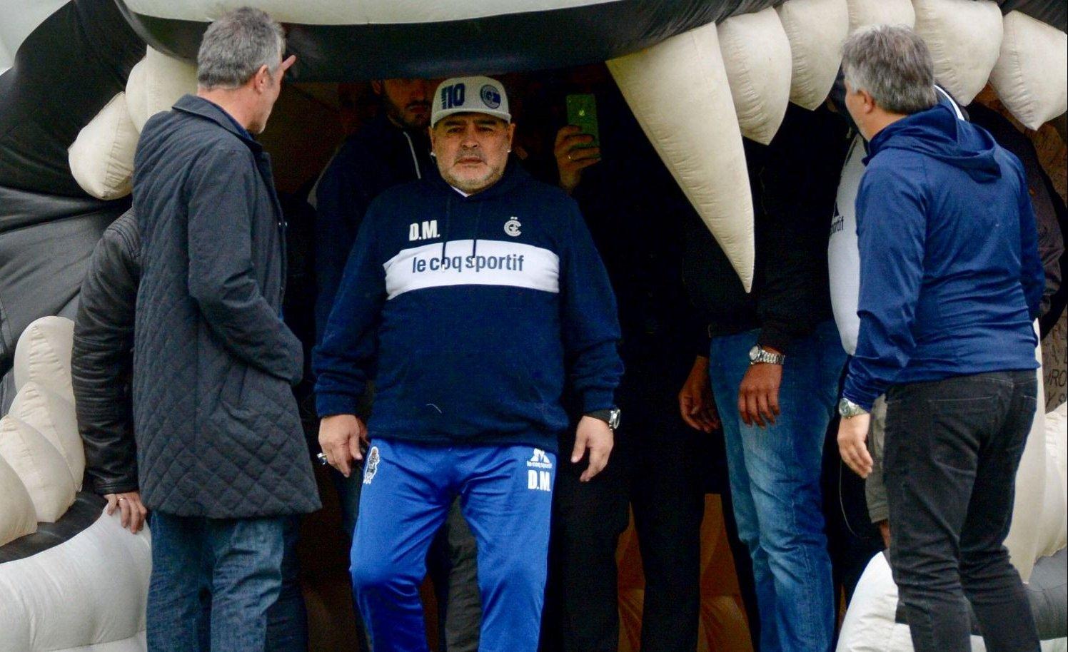 """Maradona, """"loco de felicidad"""""""