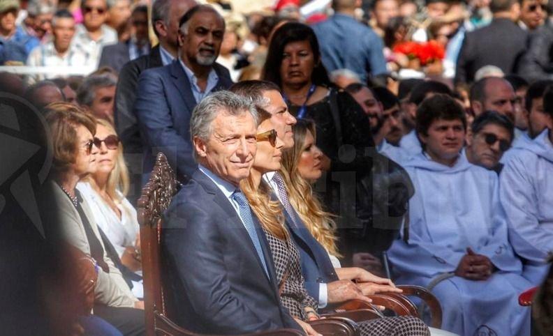 Macri participa en Salta de la misa en honor del Señor y la Virgen del Milagro