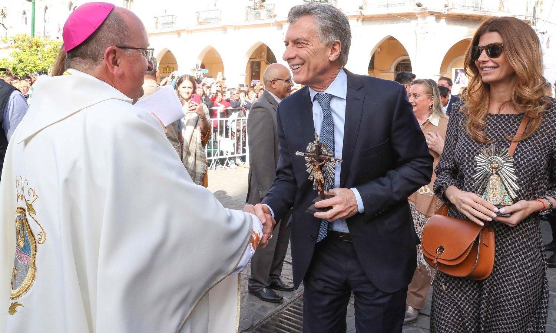 Macri participó en Salta de la misa en honor del Señor y la Virgen del Milagro