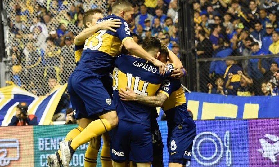 Boca derrotó a Estudiantes de La Plata y es nuevo líder de la Superliga