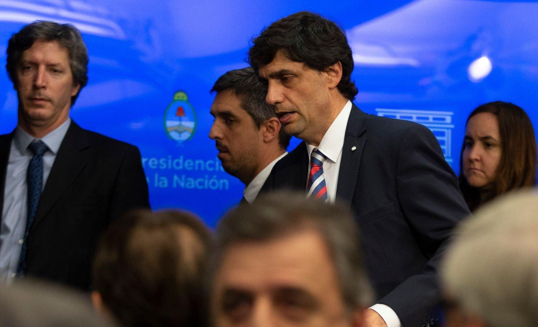 Lacunza presenta en Diputados el Presupuesto 2020