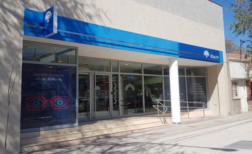 Mendoza: Banco Macro mudó la sucursal Las Heras