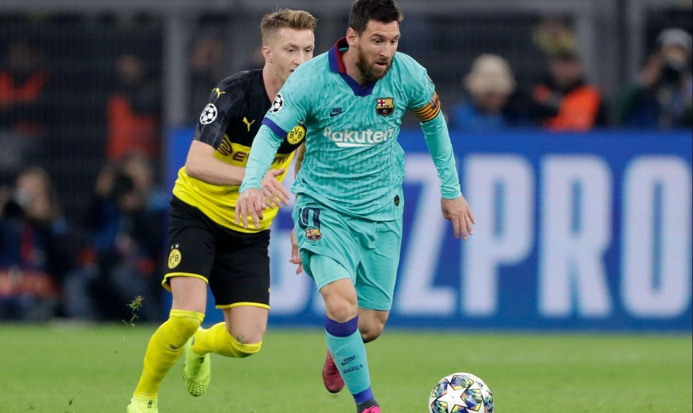 Messi volvió y Barcelona cosechó un punto de oro en Alemania