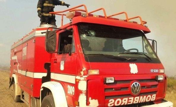 Por una estufa, se incendió una casa y se intoxicaron dos niños