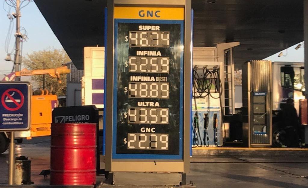 Así quedaron los precios de las naftas en Mendoza luego del aumento