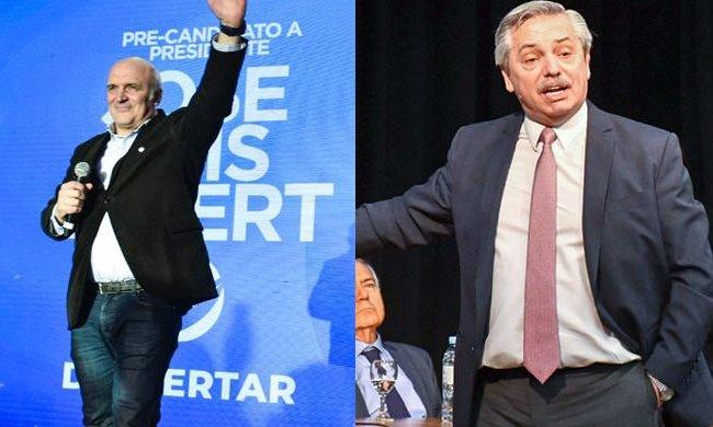 Dos presidenciables llegan a Mendoza con tono electoral
