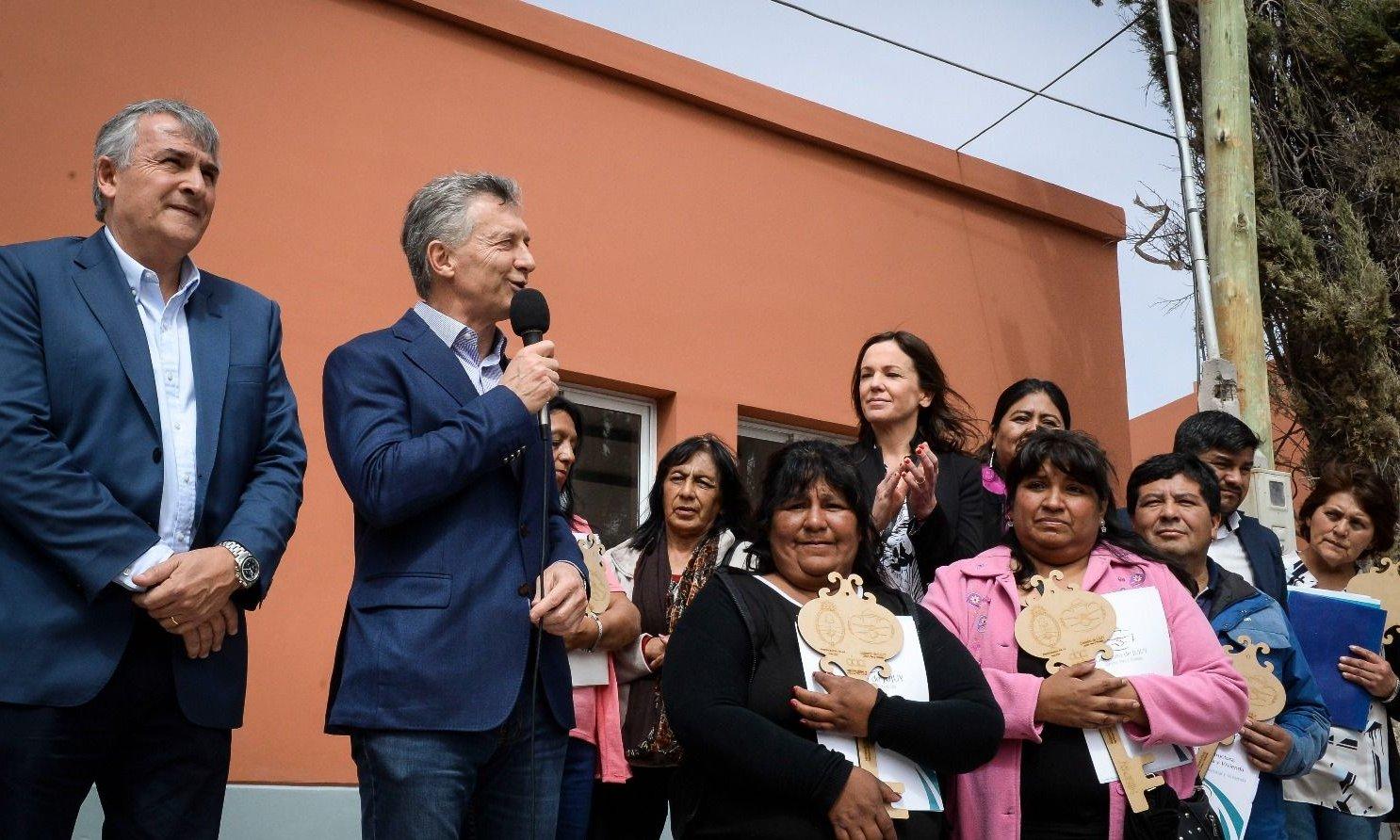 """Mauricio Macri: """"Me estoy ocupando de llevar alivio a la mesa de los argentinos"""""""