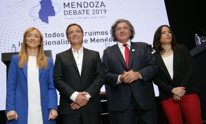 Los candidatos a la gobernación debatieron en Mendoza