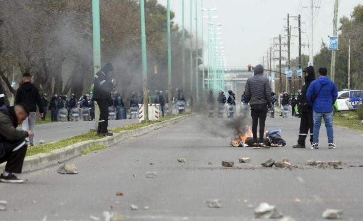 Otra vez se produjo un hecho de violencia sindical en Ensenada