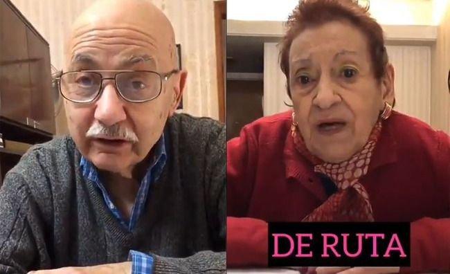 Es ultra viral el video de los abuelos explicando términos centennials