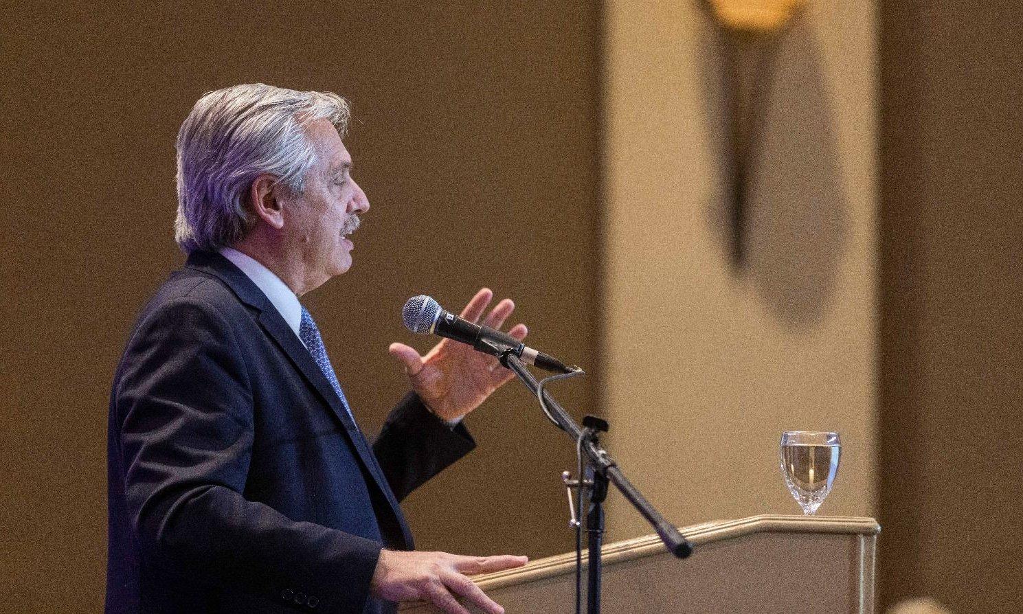 """Alberto Fernández sobre el debate: """"Si no sé debatir estoy en un problema"""""""