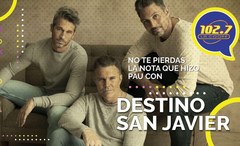 "ENTREVISTA   Destino San Javier: ""Sentimos que este disco va a ser inolvidable"""