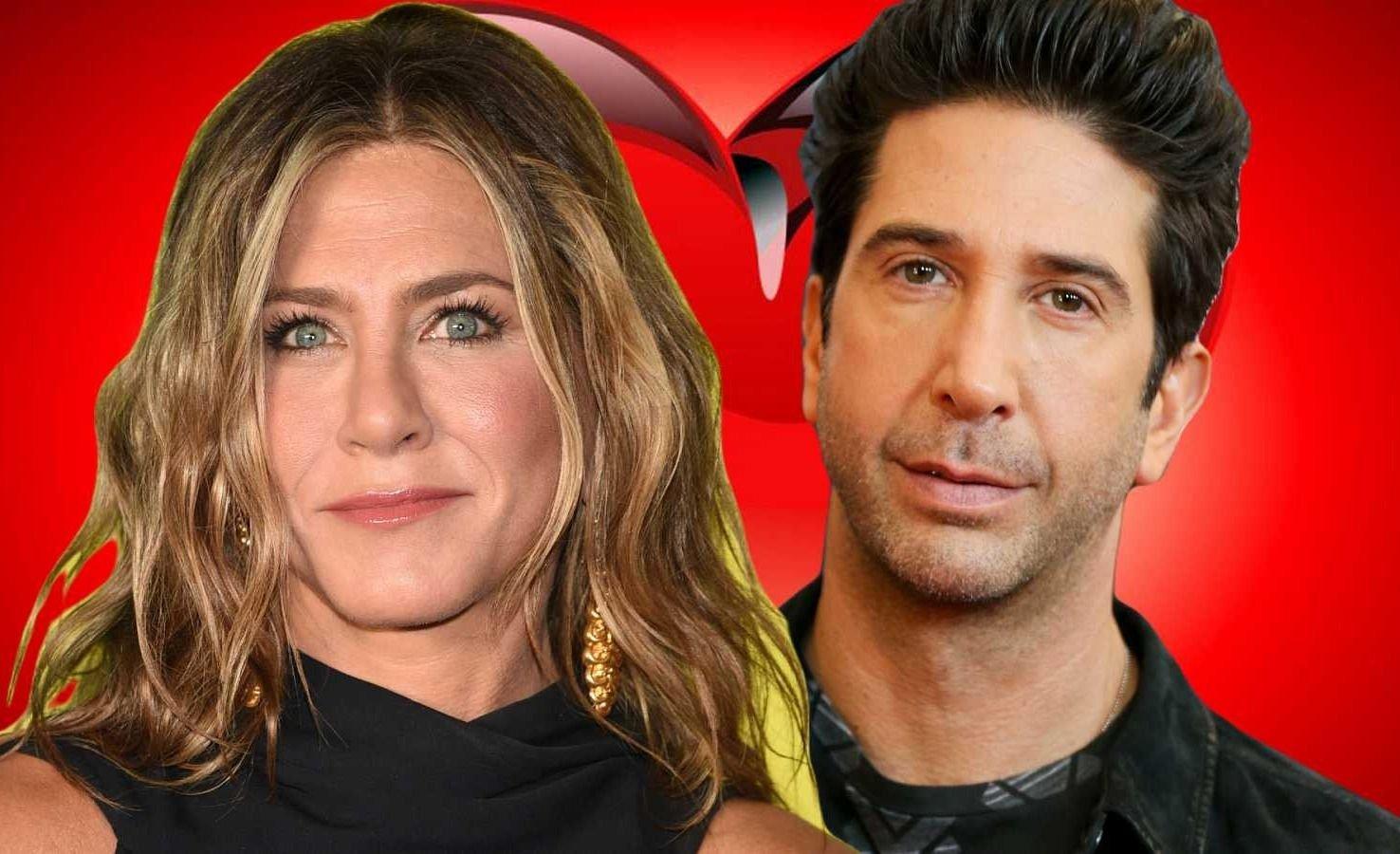 Jennifer Aniston habló de su relación con David Schwimmer
