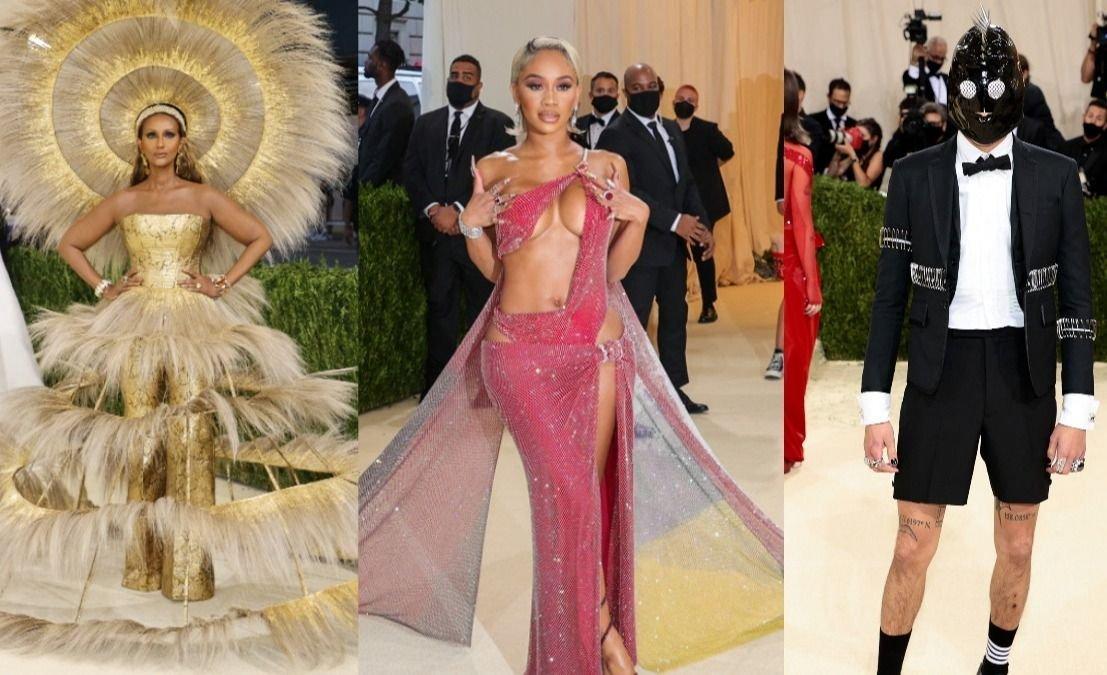 Los looks más extravagantes de la alfombra roja de la Met Gala