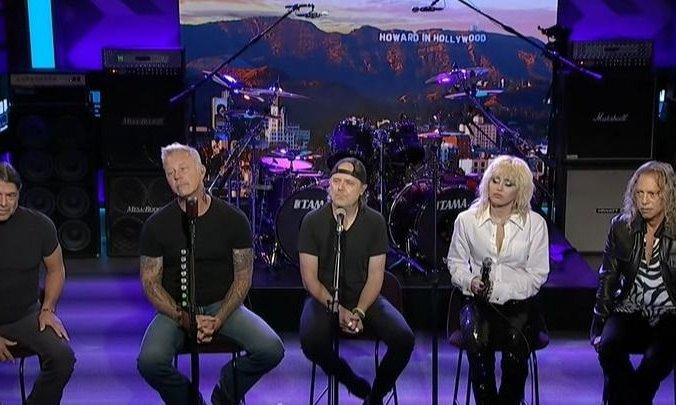 """Metallica y Miley Cyrus sorprendieron con una versión de """"Nothing Else Matters"""""""