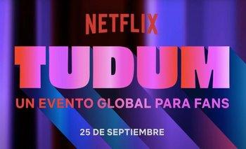 """Netflix presentó el tráiler oficial de """"Tudum"""""""
