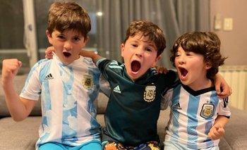Los hijos de Messi revolucionaron las redes con la nueva Music Sessions