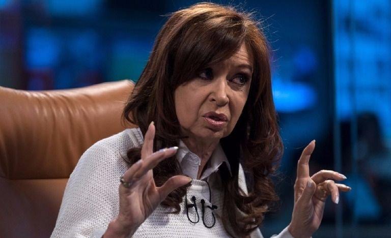 Cristina Kirchner regresó a la Argentina