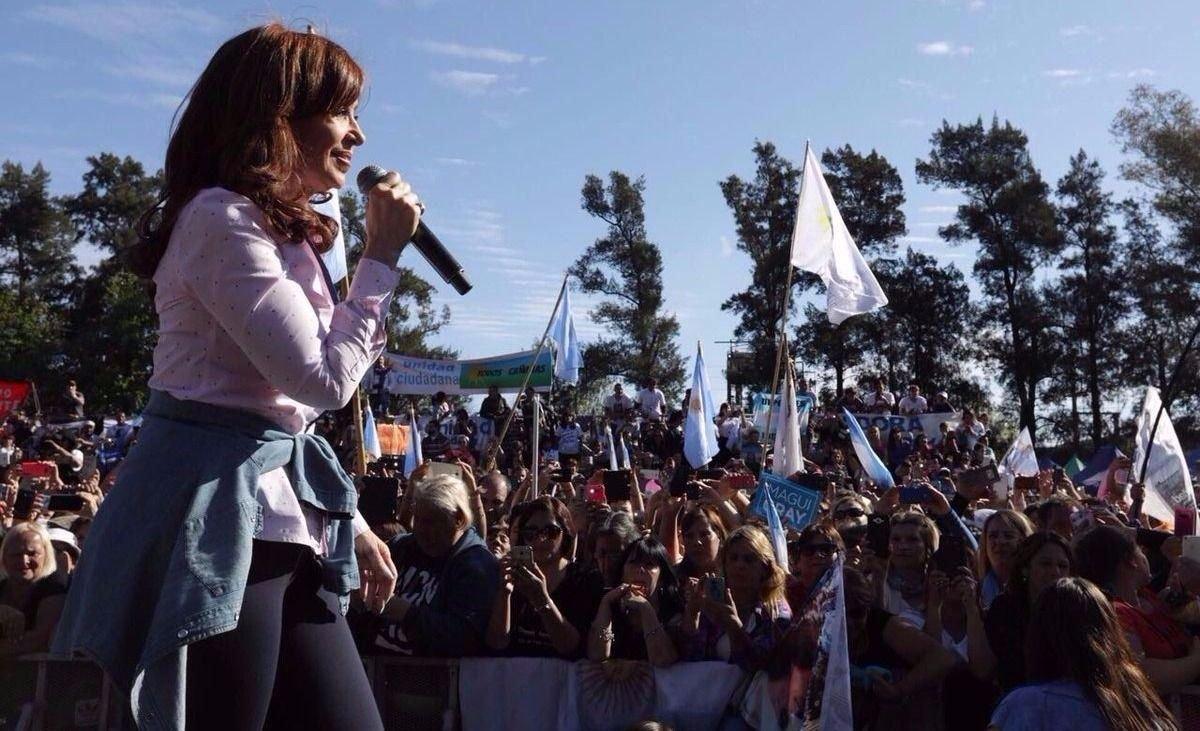 """Cristina Kirchner: """"No me interesa tocar timbres sino iluminar cabezas"""""""