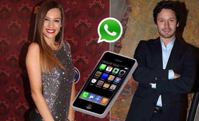 Pampita habló del WhatsApp que le mandó a Vicuña