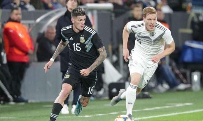 Alario descontó para Argentina en Alemania