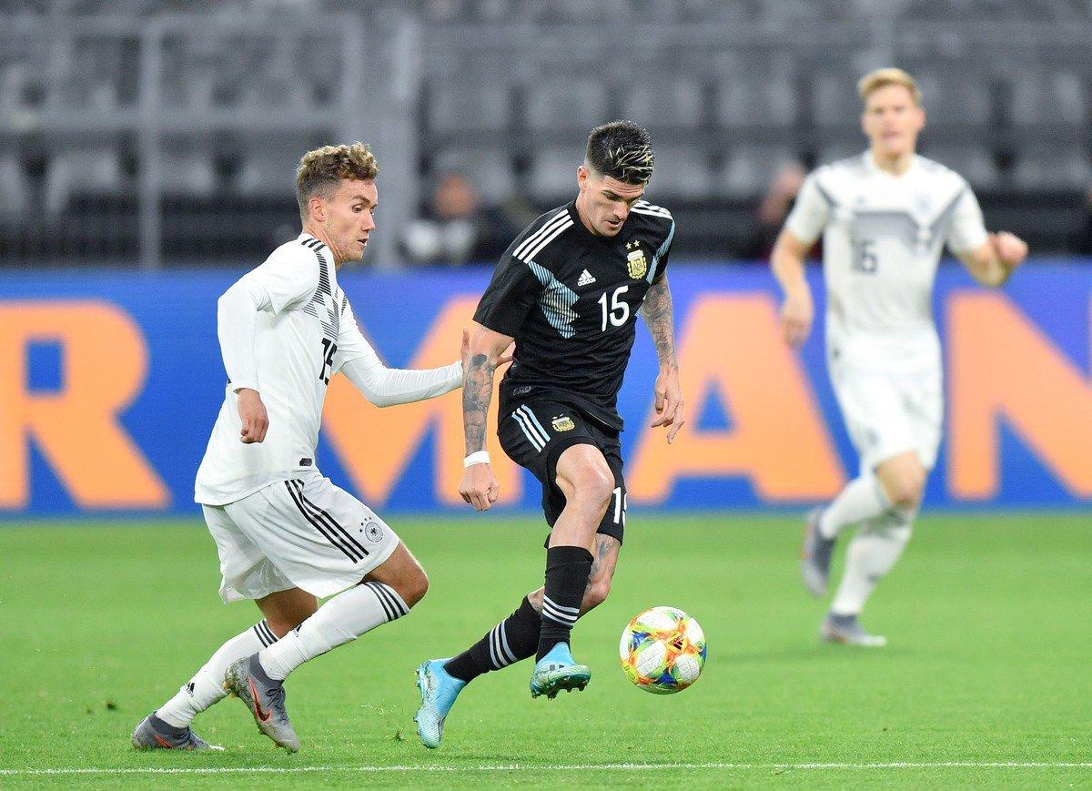 Selección argentina Alemania Dortmund amistoso Lionel Scaloni Ecuador