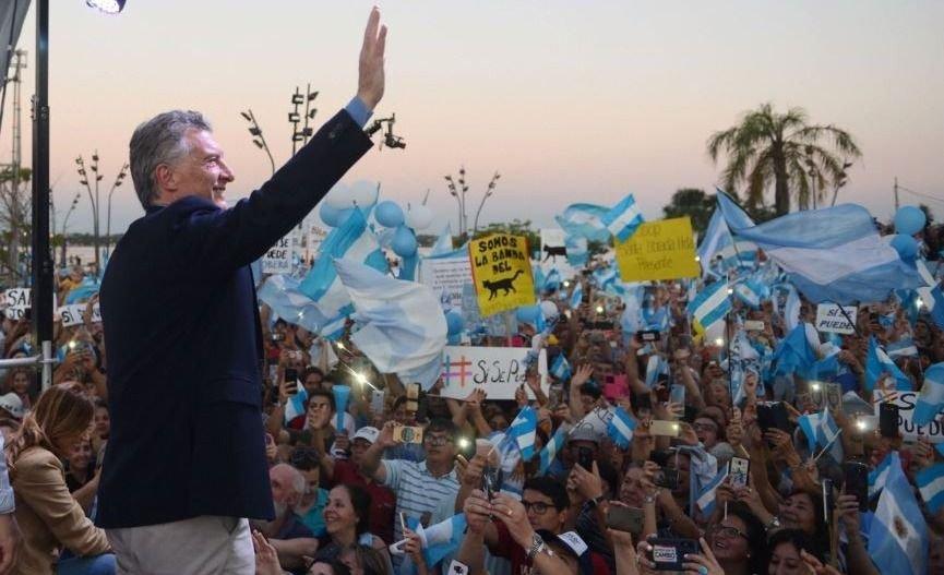 """Mauricio Macri Salta """"Sí se puede"""" marcha elecciones"""