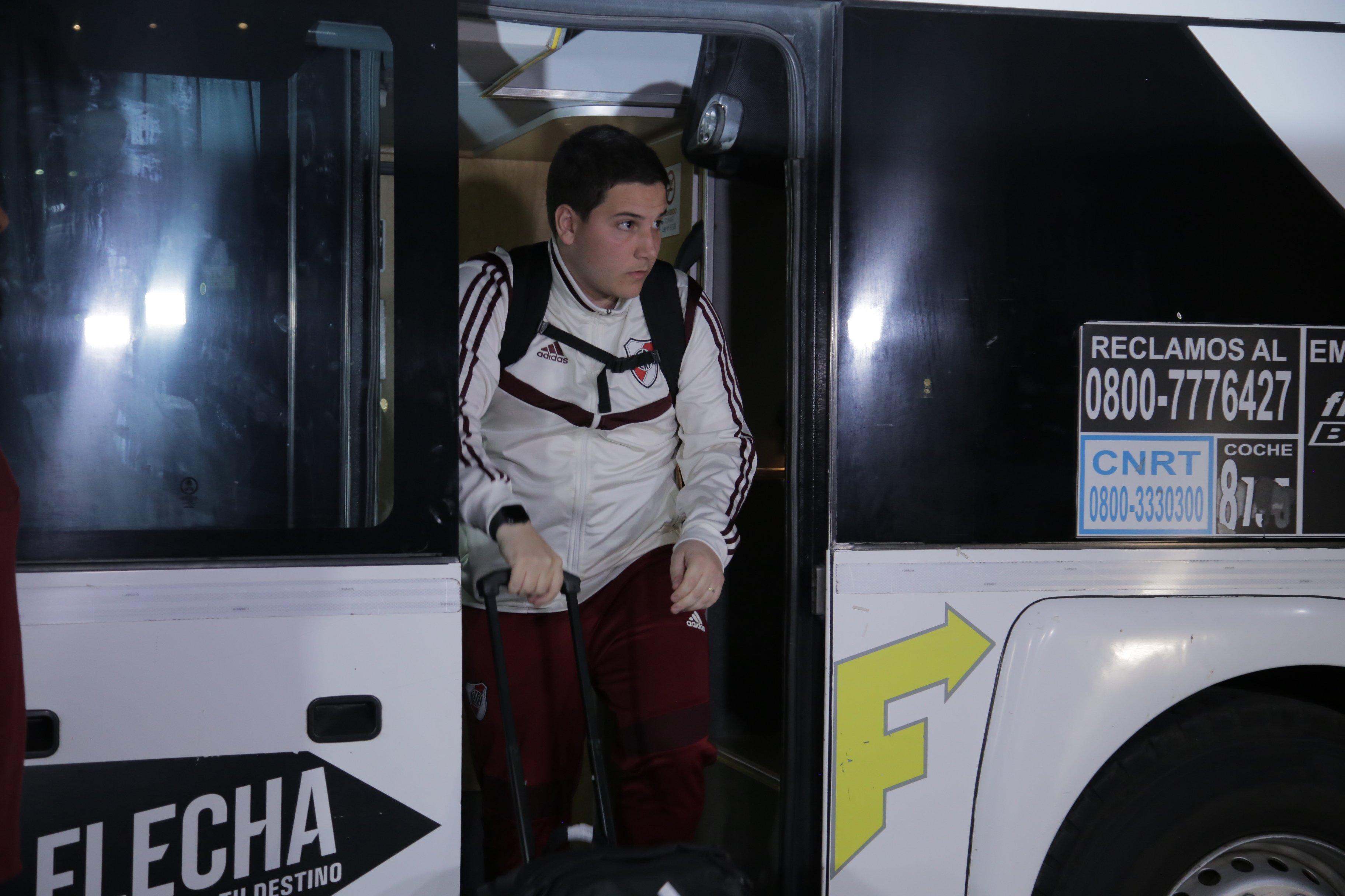 River Plate Copa Argentina Almagro Mendoza Malvinas Argentinas hinchas Hotel Intercontinental Marcelo Gallardo