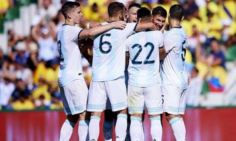 Argentina ganó, gustó y goleó frente a Ecuador