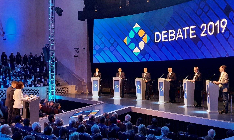 Todo lo que dejó el primer debate presidencial en Santa Fe