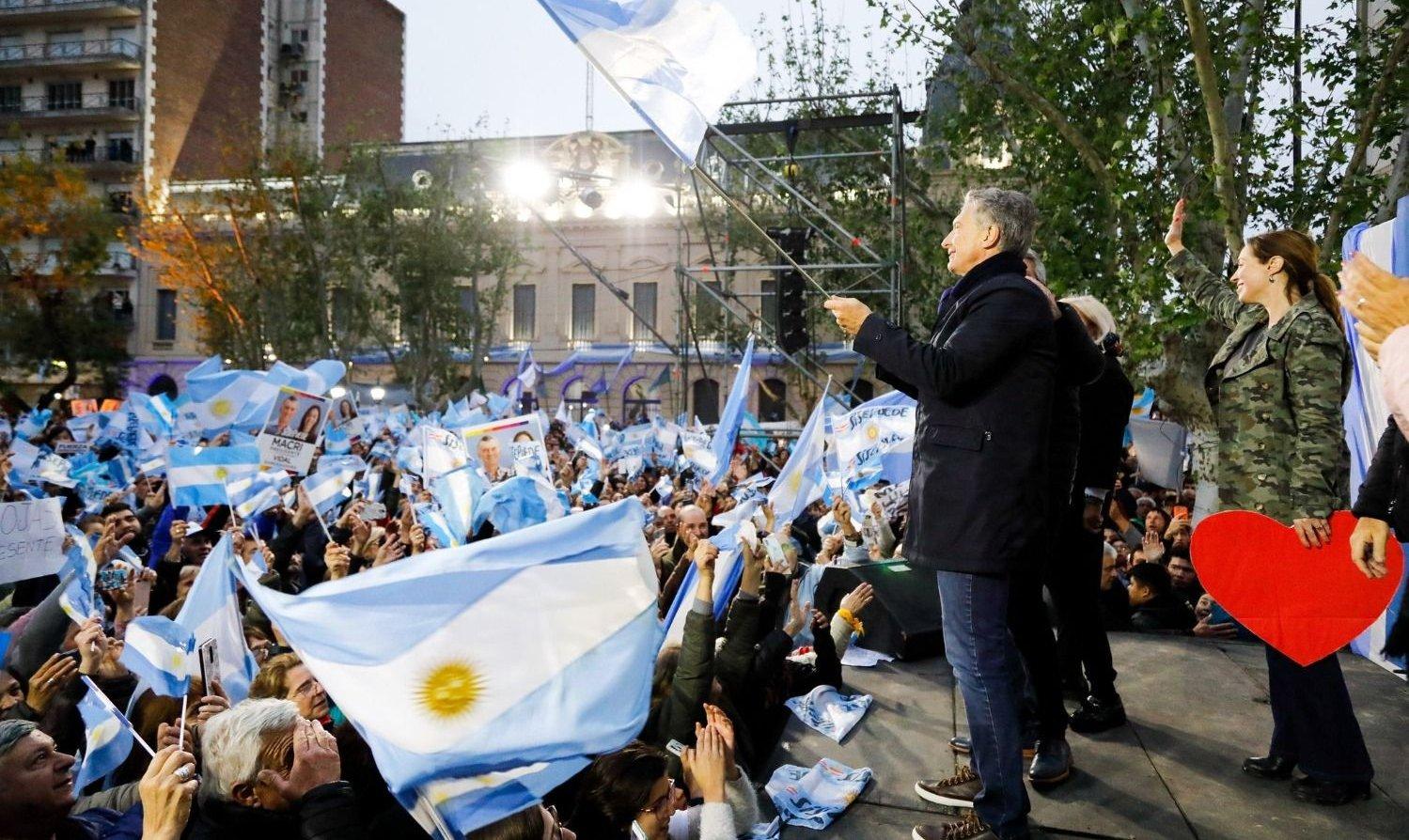 """Macri en Pergamino: """"No queremos más prepotencia ni dueños del poder"""""""