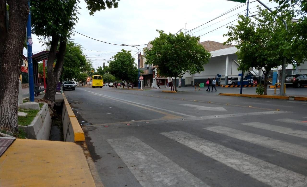 Miércoles gris y fresco en Mendoza