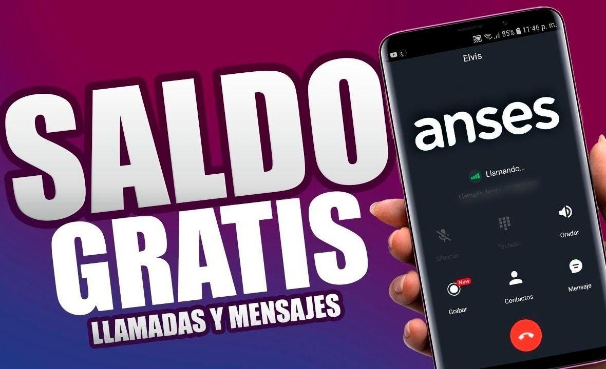 ANSES SALDO GRATIS | ¿Cómo obtener $300 POR MES de RECARGA para tu CELULAR? (último llamado para PROGRESAR)