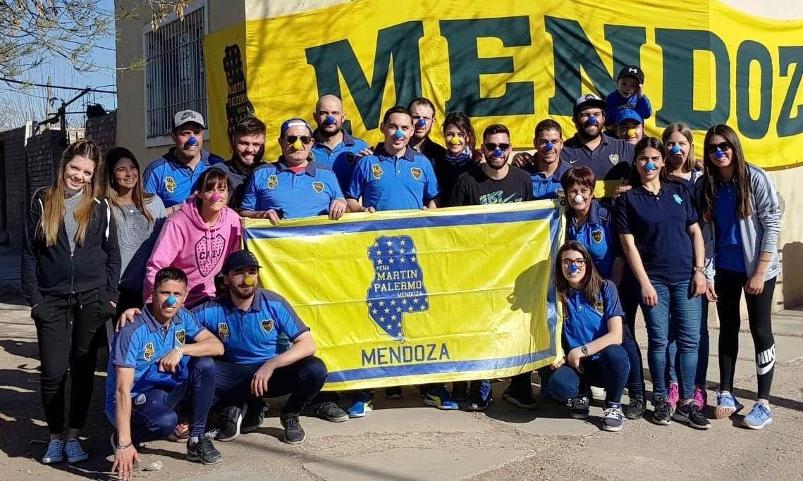 Glorias xeneizes llegan a Mendoza de la mano de la Peña Martín Palermo